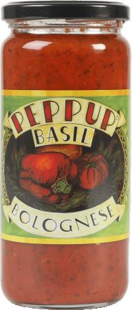 Basil bolognese